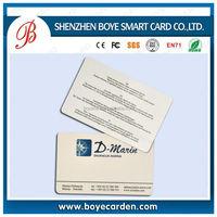 CR80 125KHZ Plastic PVC TK4100/EM4100 id card software
