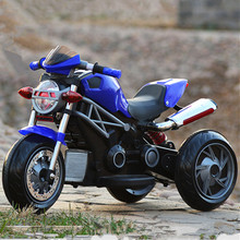 Wholesale kids toys motorcycle/ three wheel kids toy/children battery powered ride on toy car