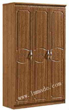 Walmart Wardrobe with Casters 9014-3#