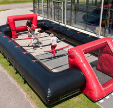 Top Quality Commercial Grade Inflatable Human Foosball For Sale