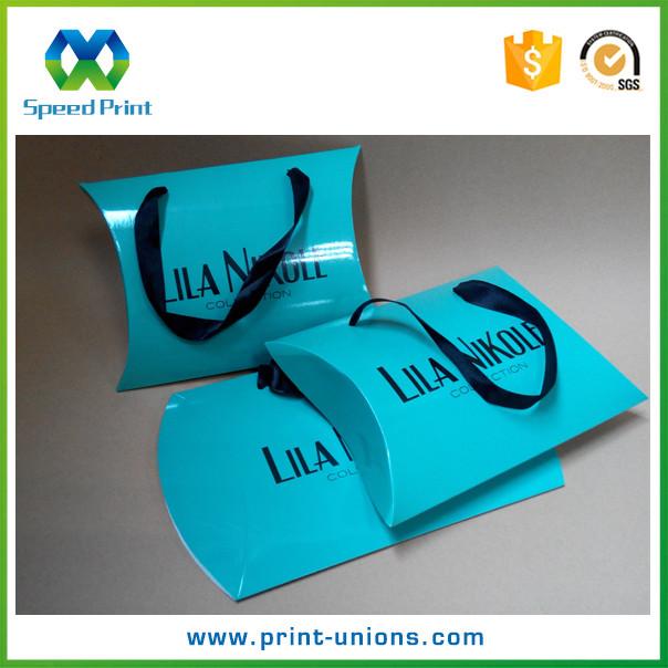 Caixa de papel travesseiro para embalagem da extensão do cabelo