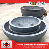 API welding galvanized pipe end cap for fluid transportation