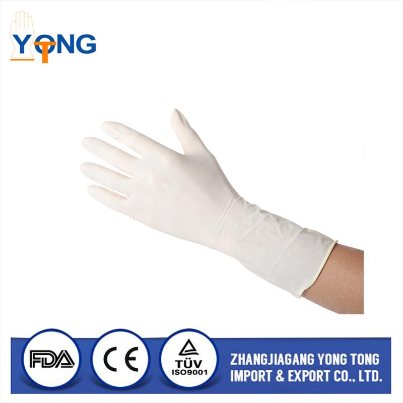 Economy pack white latex gloves Latex glove
