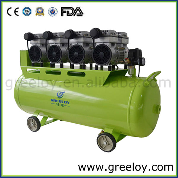 Atlas Copco Air Compressor /Best Price Heavy Duty Oil Free Powerful Electric Piston Silent Dental Air Compressor Manufacturer
