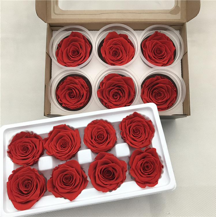 Yunnan natural preserved real flower roses for flower florist make preserved roses gift box