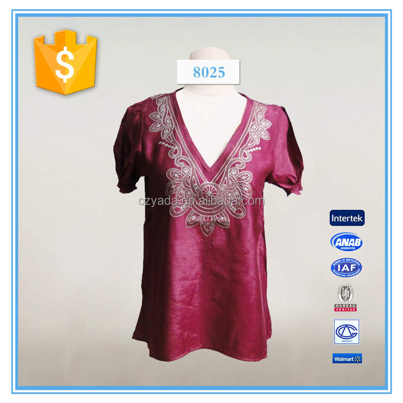 Machine Embroidery Designer Blouses 50