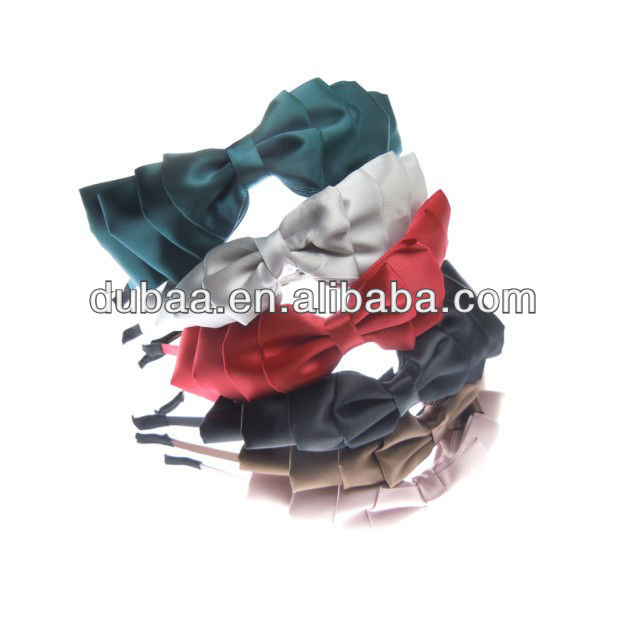 Fashion More Layers Hair Bow Hair Band for Girls,Yiwu Factory Wholesale Bow Hairbands Hair Accessories