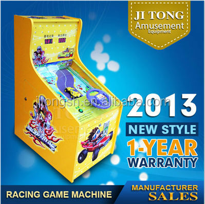coin operated JT-05 racing car brick game jitong brand