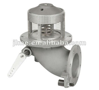 4'' foot valve, emergency valve,gas emergency shut off solenoid valve