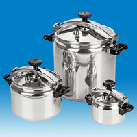 JP-PC08 High quality Large Capacity Stainless Steel Different Size Pressure Cooker