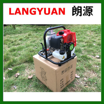 Cheap price 42.7cc 1.5 inch garden water pump 2 stroke pump