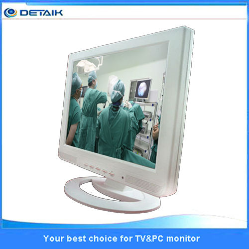 Doctor computer purely white 15 inch LCD monitor HD endoscope monitor LED LCD