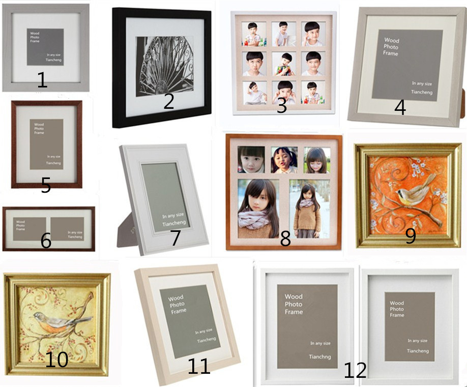 handmade wholesale square white u0026 black small shadow box picture frame 6x6 inch