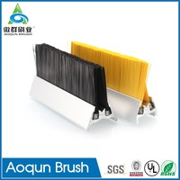 High Quality Double Row Escalator Apron Safety Brush