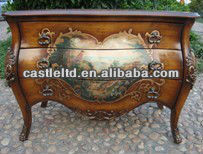 CF30153B Bombay Chest Cabinet Console Table Indian Luxury Cabinet