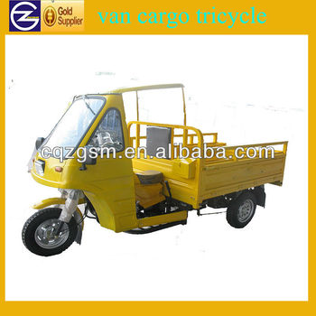 New Design Iron Cabin Van Cargo Tricycle
