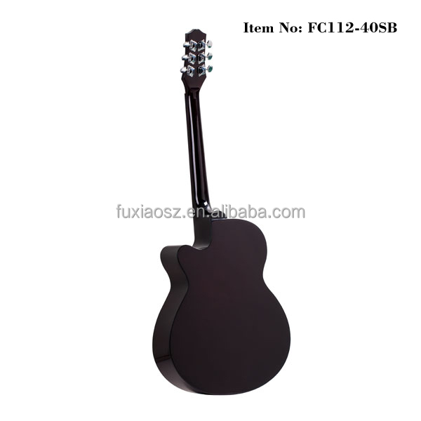 Global sales folk acoustic guitar