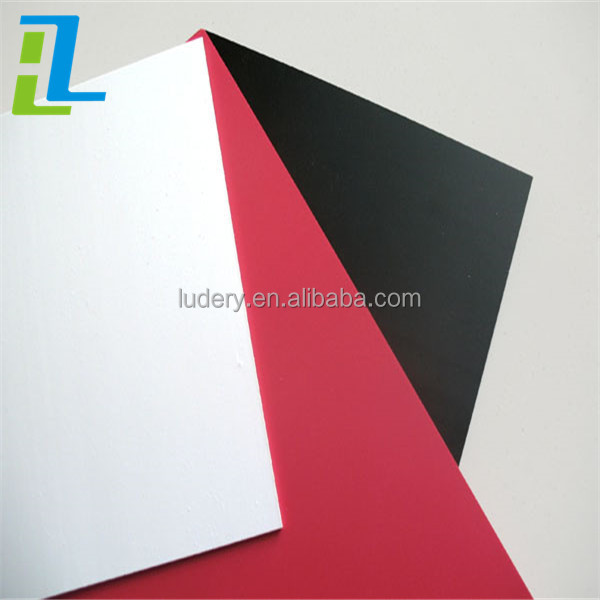 0.55mm soft black self Adhesive PVC Foam Sheet