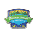 Wonderful Indonesia Souvenirs Refrigerator Magnet Picture Frame Fridge Stickers Promotional Fridge Magnets