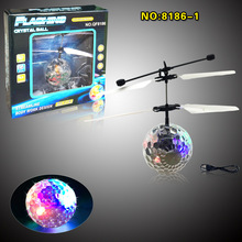 2017 Hot Selling Toys Flying Ball Electronic Toy Helicopter Led Flying Ball