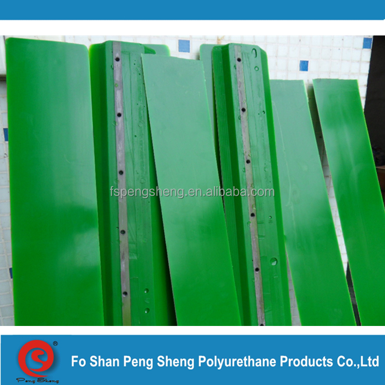 equipped urethane snow blade in the front of forklift or tractor, pu snow plough blade