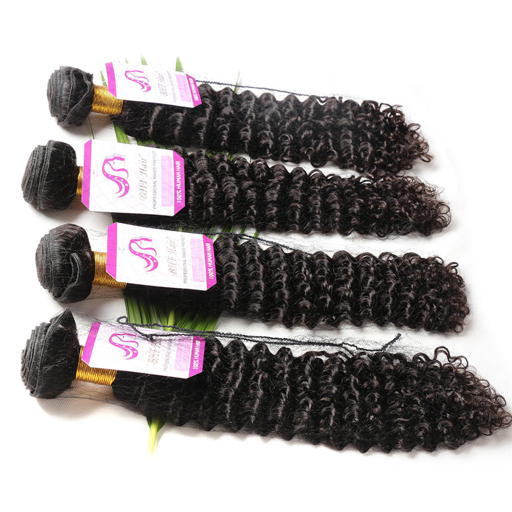 Grade 8A Virgin Brazilian Hair, Brazilian Deep Curly Virgin Hair