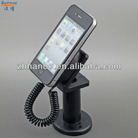 Manufacturing acrylic mobile phone holder/plasitic alarm charging cell phone
