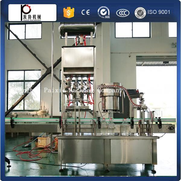 Shanghai manufacturer auto bottle filling machine cooking oil with servo motor with competitive price