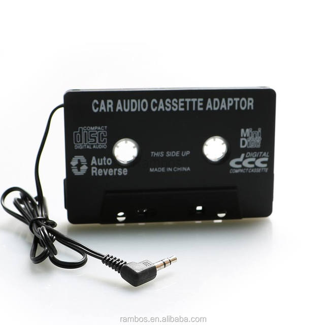 3.5mm Aux Car Audio Cassette Tape Adapter Converter for iPod MP3 CD DVD Playerfor iPhone
