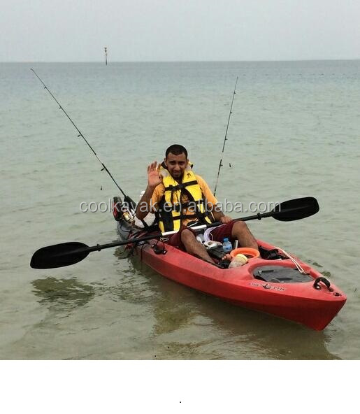 Hdpe Paddler Plastic Boat Fishing Kayak With Pedals And