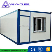 Prefabricated homes container temporary houses in india sandwich panel office container