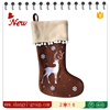 XM10-26 Christmas decoration indoor classical design large christmas stocking