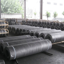 RP HD HP UHP Dia200mm 300mm 400mm 500mm Good Quality Best Price Graphite Electrode With Nipple