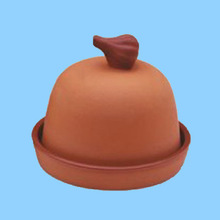 White top quality clay eco-friendly garlic crusher