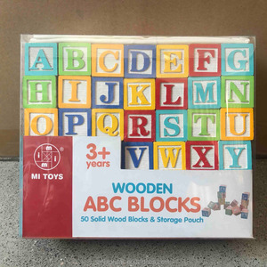 123 Blocks with storage pouch, ABC Cubic Blocks, Number Blocks toy