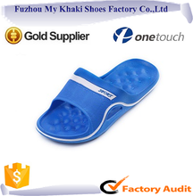 Wholesale New design massage upper slipper made by rubber EVA for man women