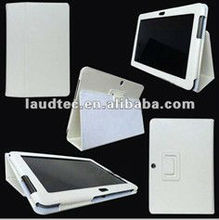 IN STOCK, Hot Selling Leather Case for Samsung Galaxy Tab 2 10.1 P5100, Flip Cover Holster Laudtec