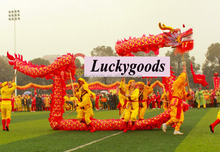 18m long hot selling chinese carnival dragon for new year