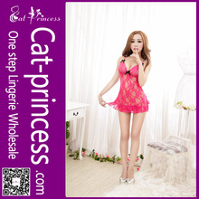Fabulous perspective latest women sexy red night lingerie