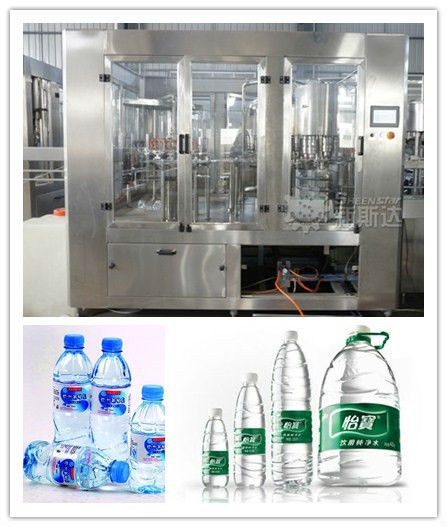 OEM Automatic Mineral / Drinking Water Bottling Plant / Line