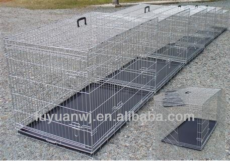 metal foldable dog kennel/cages/ pet cages manufacturer