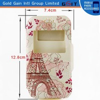 [GGIT] Colorful PU+Silicon Case for Smartphone, Beautiful Cover for Mobilephone in Common Use