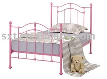 Pink Princess Single Bed
