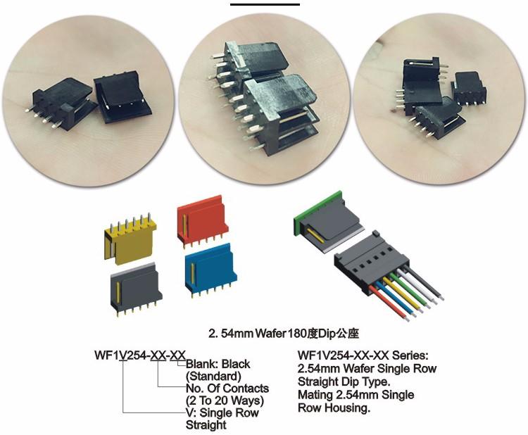 50PCS 1x6 Pin 2.54mm Right Angle Single Row Female Pin Header Connector