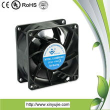 xinyujie 8038 dc cooling fan the best high quality hydraulic oil cooler with 24V fan