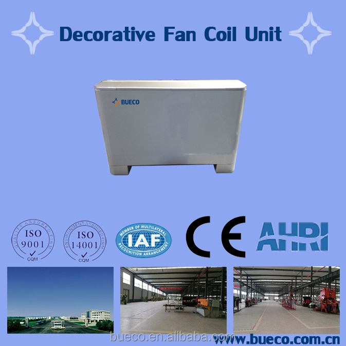 Decorative fan coil unit professional design & manufacturing