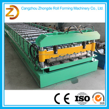 High quality glazed metal roof shingles roll forming machine