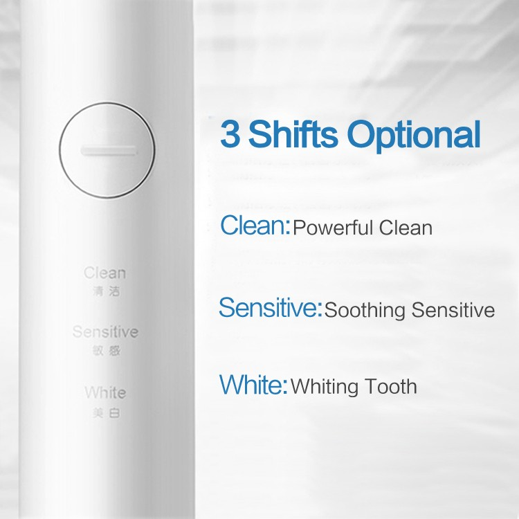 Fashion design kids/adult charging sonic waterpfoof electric toothbrush