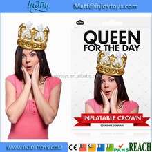 Gold Inflatable Crown Birthday Gift