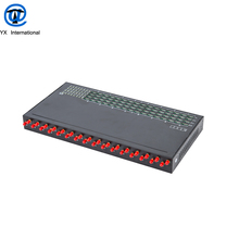 32 Ports 128 Sims Voip Goip Gsm Gateway,Sms Gateway Factory Price From China
